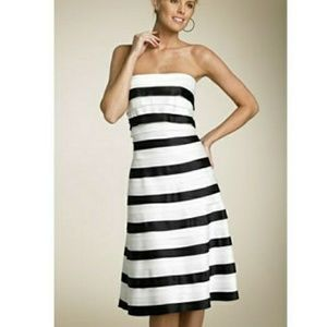 BCBGMaxAzria tiered midi dress